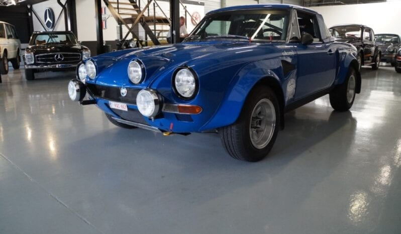 Fiat 124 Spider Group 4 Rally full
